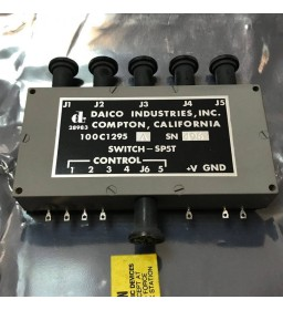 15-1000Mhz 100C1295A High Isolation PIN Diode Switch SP5T Daico