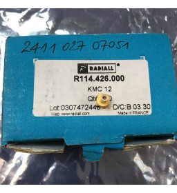 SMB STRAIGHT MALE RECEPTACLE PCB RADIALL R114426000