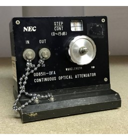 0-15DB CONTINUOUS OPTICAL ATTENUATOR NEC 0D85II-DFA