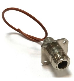 N(f) Panel Mount DC-11Ghz Coaxial Connector R161252000 Radiall