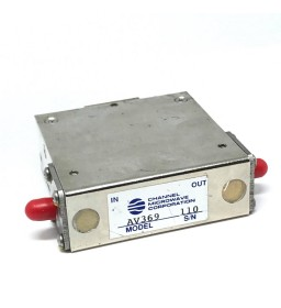 200-300Mhz 50Ohm 200W ISOLATOR CHANNEL MICROWAVE AV369