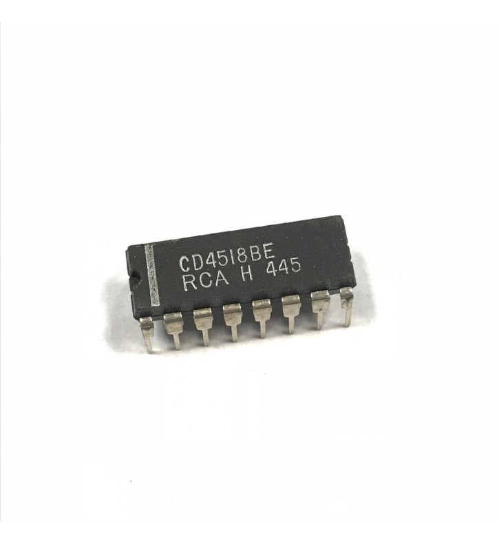 CD4518BE Integrated Circuit RCA