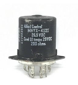 29VDC 200Ohms ALLIED CONTROL MHYX-4121 5945-00-089-2531 ELECTROMAGNETIC RELAY