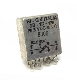 26.5VDC 675Ohm 28-1D-126 Relay Military HI-G