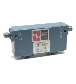 2.5-6Ghz SMA Dual Coaxial Isolator Western Microwave 2FC3023