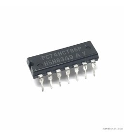 PC74HCT86P INTEGRATED CIRCUIT