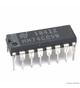 MM74C89N INTEGRATED CIRCUIT...