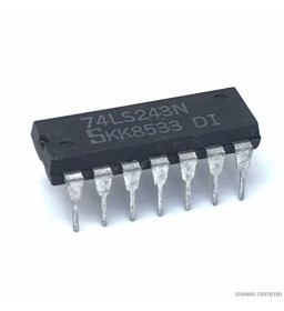 74LS243N INTEGRATED CIRCUIT...