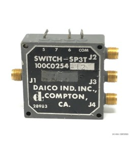 SMA SP3T 12V COAXIAL SWITCH...