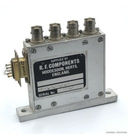 COAXIAL SWITCH RELAY 1 TO 3...