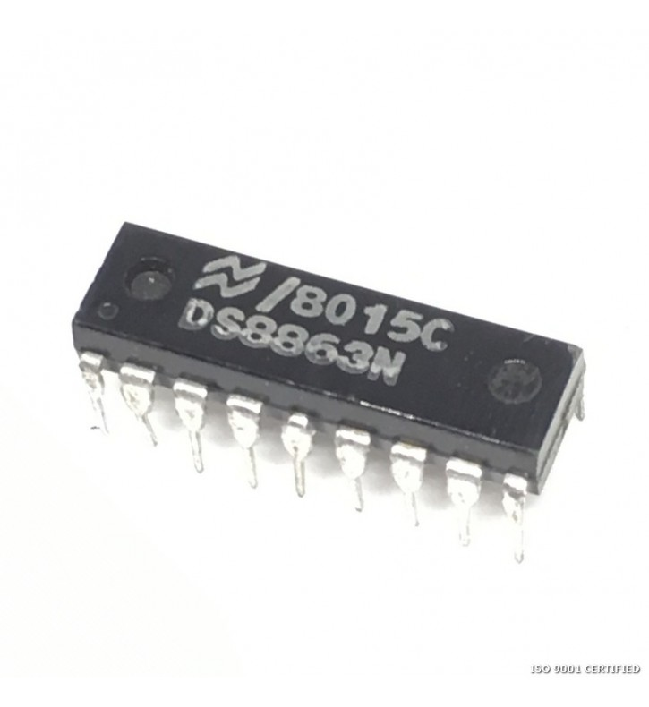 DS8863N INTEGRATED CIRCUIT NATIONAL