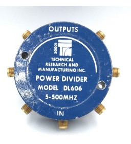 5-500MHZ 6WAY POWER DIVIDER...