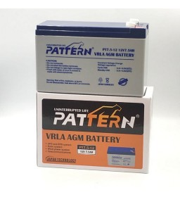 12V 7.5AH VRLA AGM BATTERY...