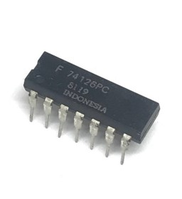 F74126PC INTEGRATED CIRCUIT...