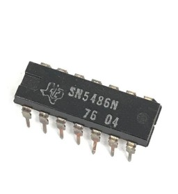 SN5486N INTEGRATED CIRCUIT...