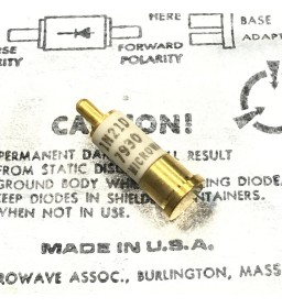1N21D MICROWAVE MIXER DIODE