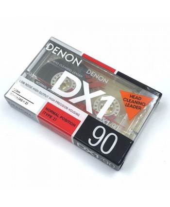 DENON DX1/90 AUDIO CASSETTE...