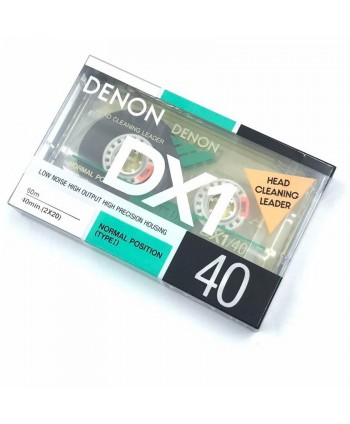 DENON DX1/40 AUDIO CASSETTE...