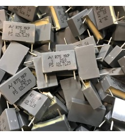 0.1uF 250VDC 5% R75 MKP POLYESTER FILM CAPACITORS 50pcs