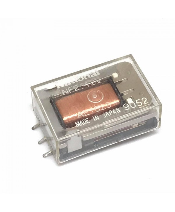 9 Pins 12VDC Latching Relay Square
