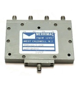 0.96-2GHZ 50Ohm 4 WAY SMA POWER DIVIDER COMBINER MERRIMAC PDM-42-1.5GA