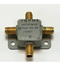 1-100Mhz 50Ohm 3Way 2W SMA Power Divider / Combiner Merrimac PDM-30-55