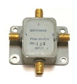 DC-200Mhz 50Ohm 3Way 3W SMA Power Divider / Combiner Merrimac PDM-30-200