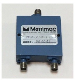 1-2Ghz 10W 2 Way SMA Power Divider MERRIMAC PDM-21M-1.5G