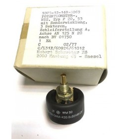 53 OHM 10% 20W POTENTIOMETER DRALORIC 5905-12-148-4069