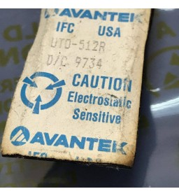 UTO-512R AVANTEK 5MHz - 500MHz RF/MICROWAVE WIDE BAND LOW POWER AMPLIFIER