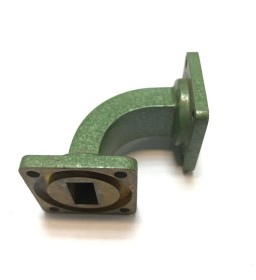 WR-62 Waveguide 90 Degree Transistion Fixed Midwest Microwave