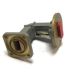 WR-62 Waveguide 90 Degree Transistion - Round Fixed Credowan53711