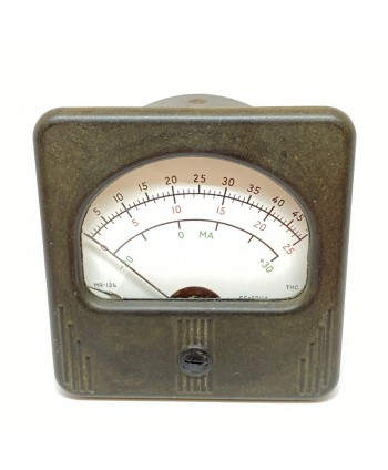 3 SCALE AMMETER MILITARY...