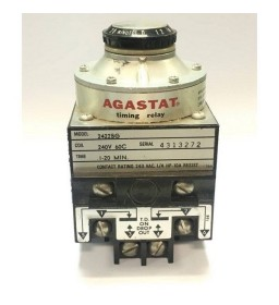 1-20Min 240V 60C 2422 BG AGASTAT Timing Relay