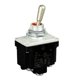 2 Pole 2 Position ON-ON Toggle Switch HONEYWELL 2TL1-3 5930-00-655-4241