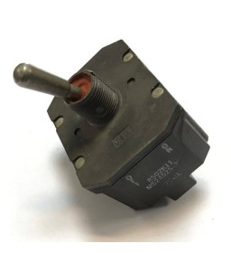 TOGGLE SWITCH, 4PST, MOMENTARY, 18A, 28VDC 8502K11 MS24525-30