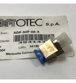 OPTOTEC ADAPTER SC TO FC OPTICAL FIBER OPTIC ADAPTER MADE IN ITALY ADP-S0F-00-X