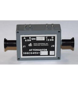 6/12DB 0-400Mhz SMA Coaxial Variable Attenuator 100C04931 DAICO 5985-01-049-7971