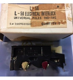 Westinghouse L-56 electrical interlock