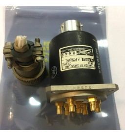 28V SP6T 6 WAY COAXIAL SWITCH + CONNECTOR 82152-146C90500