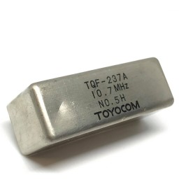 10.7Mhz Crystal Filter Toyocom Japan  TQF-237A
