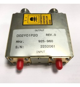 925-960Mhz 80W 50Ohm Directional Coupler D02Y01P20 RACAL