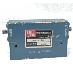 2-5.5Ghz Coaxial Isolator PMI-2280 WESTERN MICROWAVE