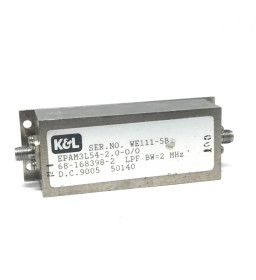 54MHZ LPF BW 2MHZ Microwave Coaxial Filter EPAM3L54-2.0-0/0 General Microwave